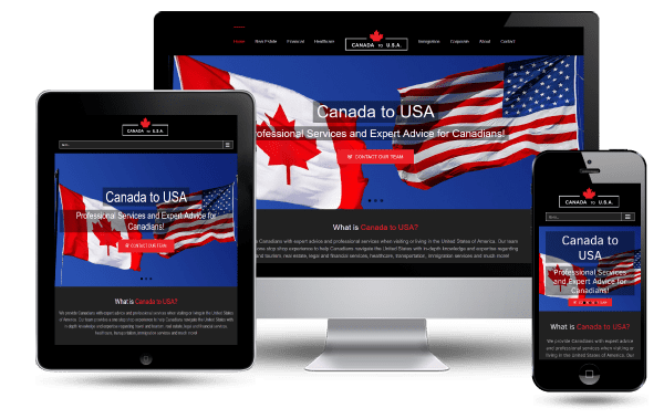 Canada to USA Website Advertising
