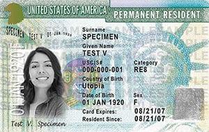 U.S. Investor Green Card