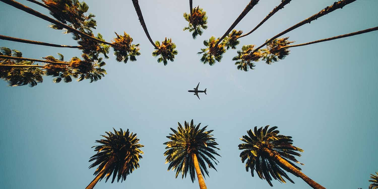 Flights from Canada to California