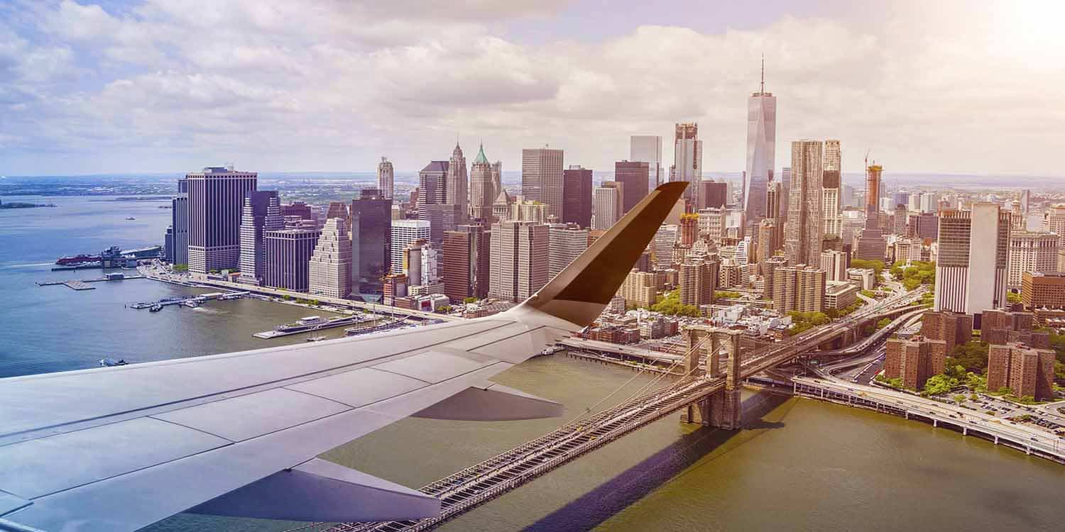 Flights from Canada to New York