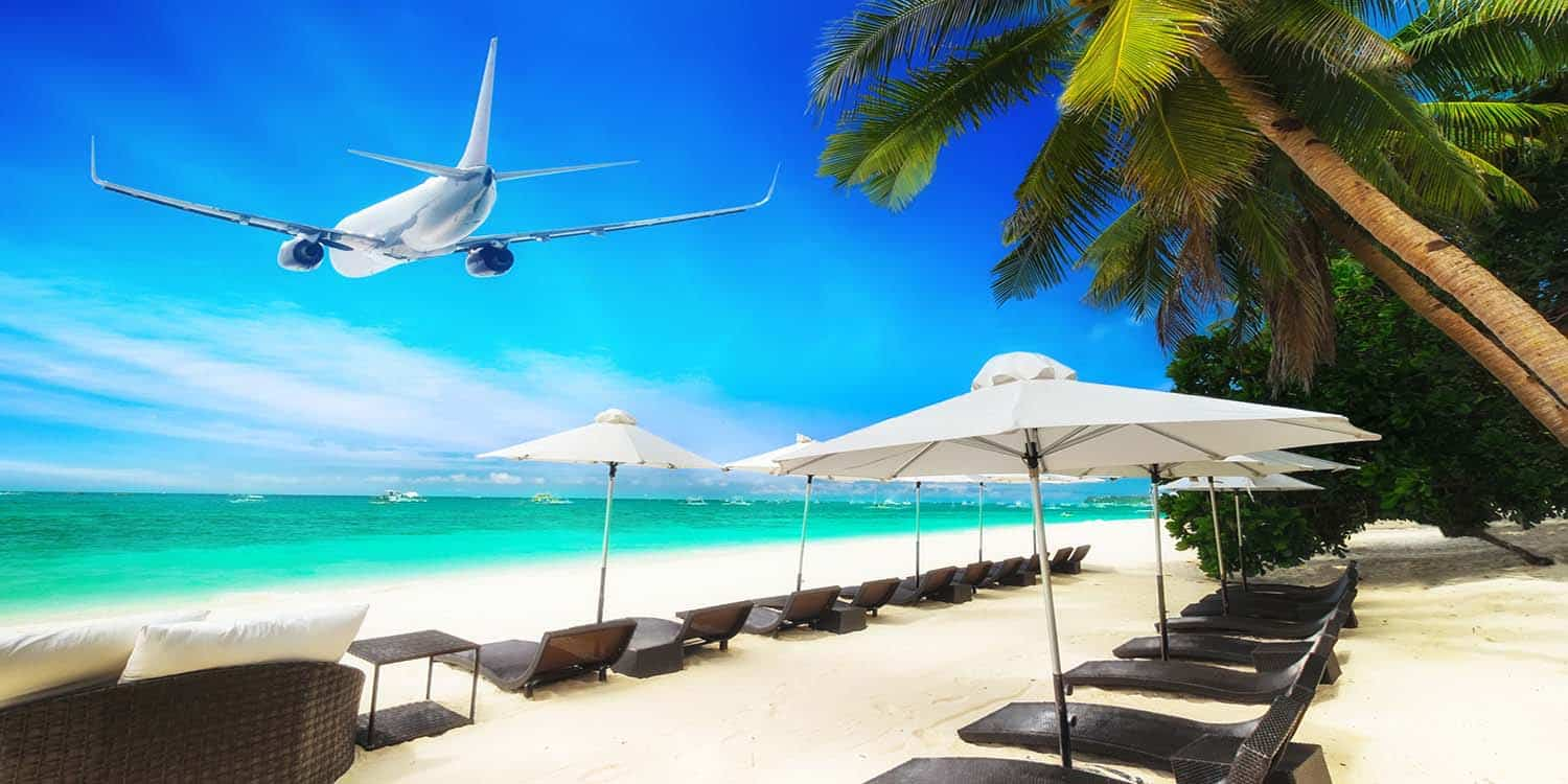 Flights from Canada to the Caribbean